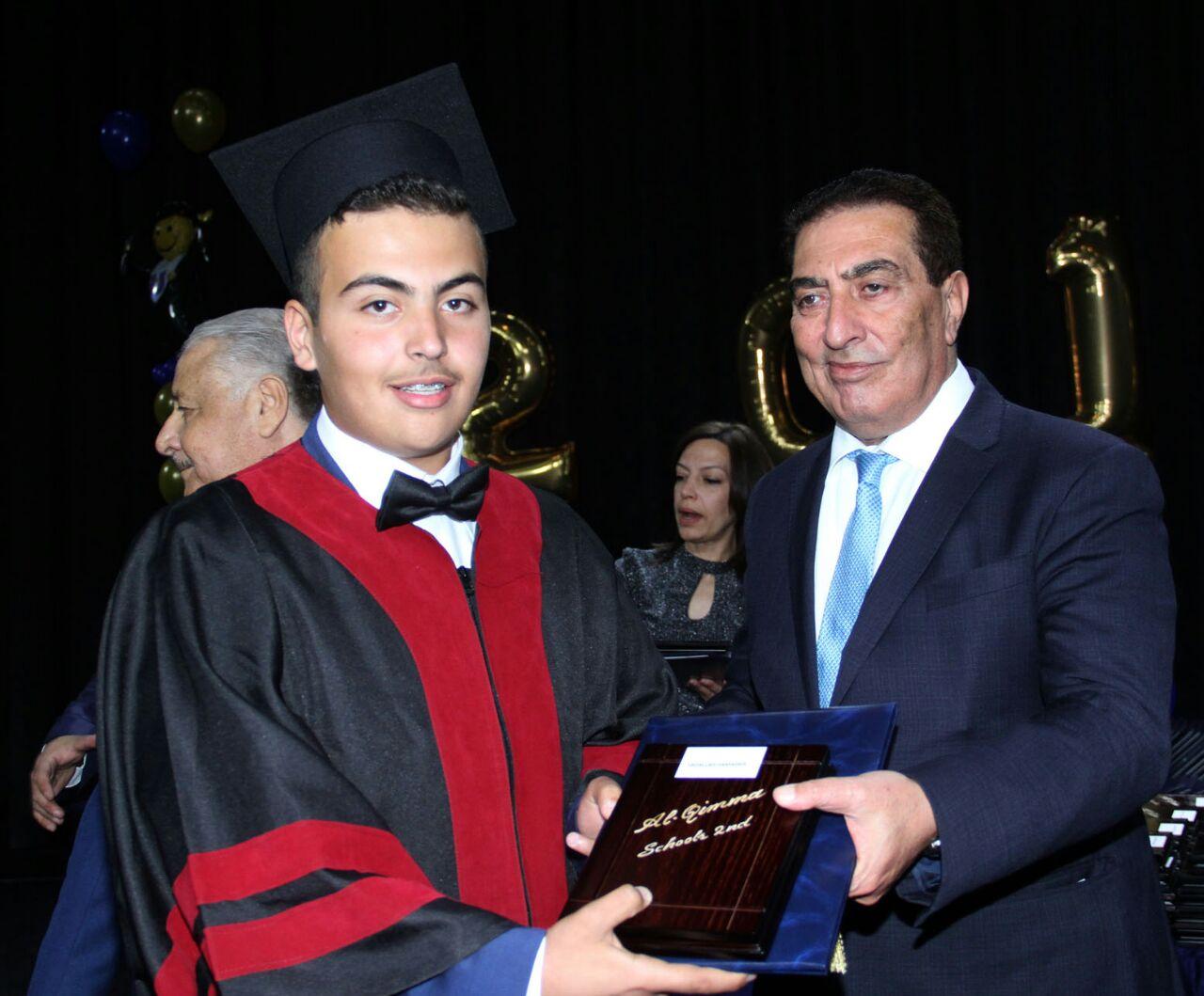 عبد الله رائد حمادة مبارك التخرج