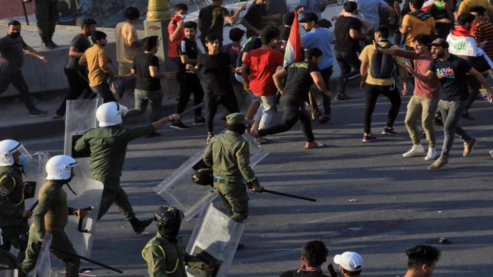 الولايات المتحدة غاضبة من العنف ضد المتظاهرين العراقيين
