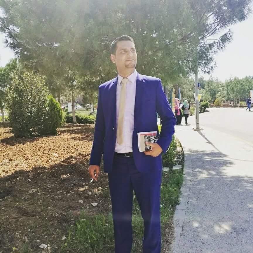 """مبارك .. الماجستير للمراقب الجوي """"سفيان عدنان المحاميد"""""""