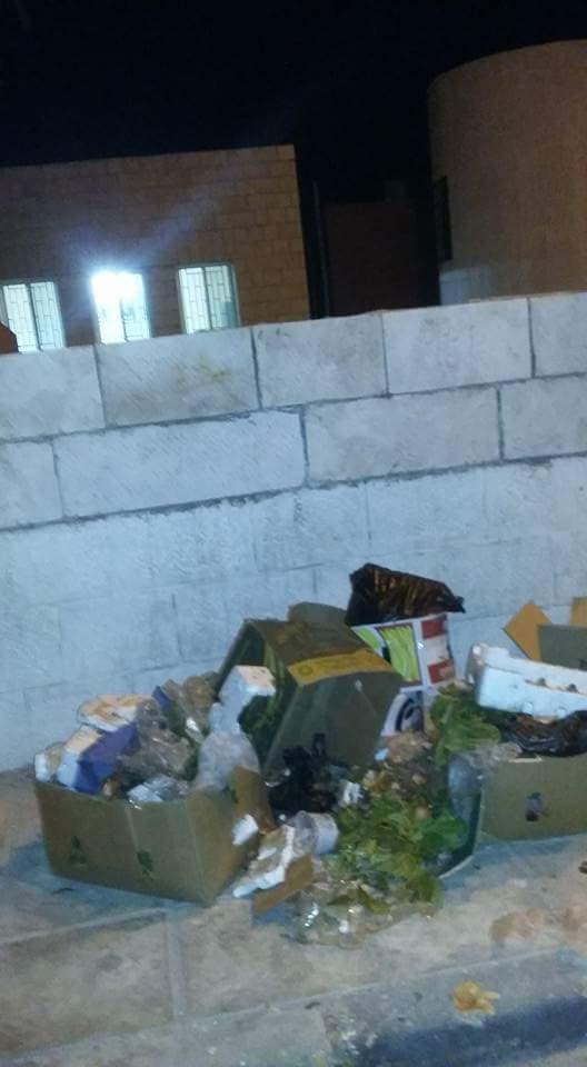 تراكم النفايات في لواء فقوع شمال الكرك  .. صورة