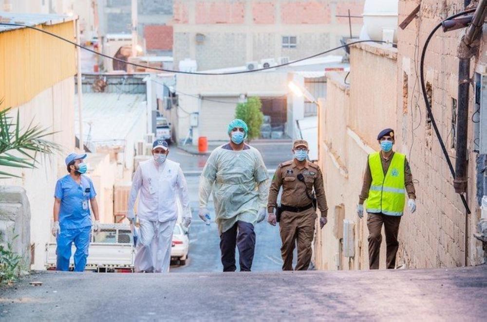 السعودية: 2235 اصابة جديدة بفيروس كورونا