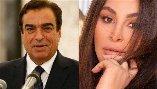 إليسا تهاجم جورج قرداحي: جاهل بالشأن اللبناني ايضا