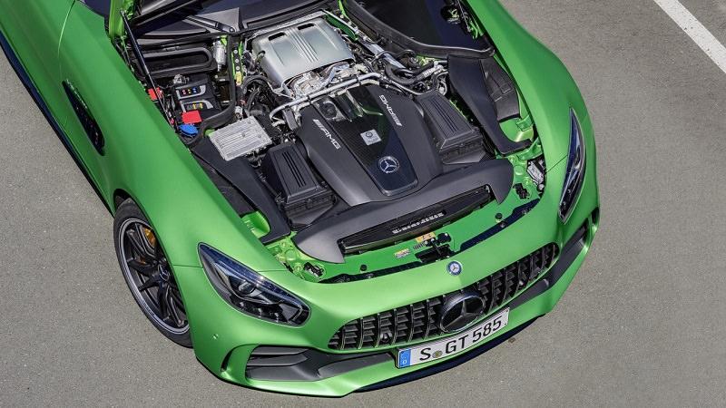 بالصور .. مرسيدس ستقدم العام القادم سيارة رياضية أقوى من AMG GT R