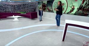 برنامج صباح الرياضية  :استضافة الطفل كريم الخطاطبه - أصغر محلل رياضي أردني