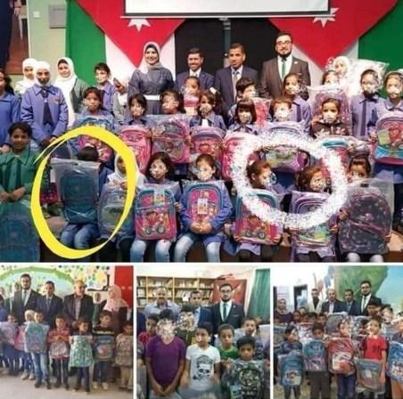 التربية تتجة لحظر تصوير طلاب المدارس اثناء توزيع المساعدات