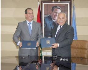 جامعة عمان الأهلية توقع برنامج تعاون مع وكالة الأنباء الأردنية