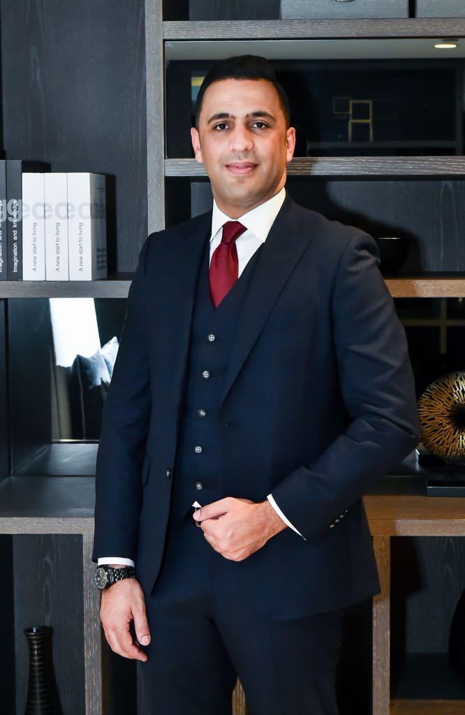 بحضور السفير الأردني في الامارات عقد قران السيد/ علي خالد محمود عبيدات