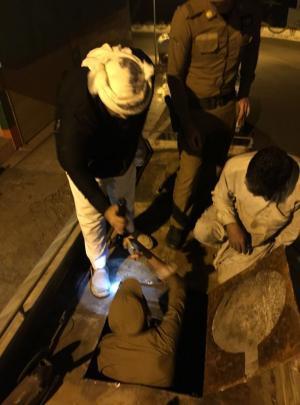 """السعودية : إحباط تهريب """"قات"""" بنصف مليون ريال في """"فيفاء جازان""""  ..  صور"""