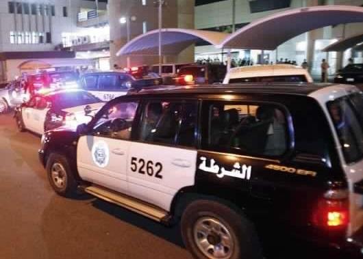 القبض على اردني حطم دورية شرطة و اصطدم بـ(5) سيارات في الكويت