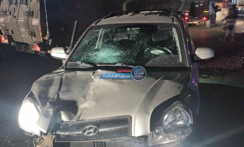 إصابة جندي صهيوني بعملية دهس قرب القدس واعتقال منفذها