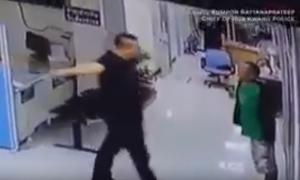بالفيديو  .. شاهد كيف أنقذ ضابط مسلم رجلا حاول قتل نفسه بعدما يأس من حياته
