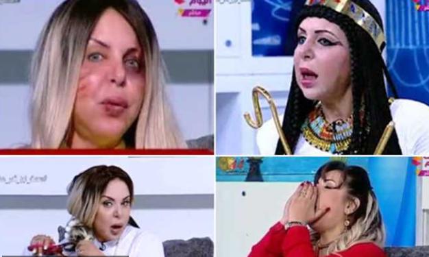 بالفيديو  ..  مرشحة للرئاسة المصرية «تزغرد وتقصّ شعرها على الهواء»