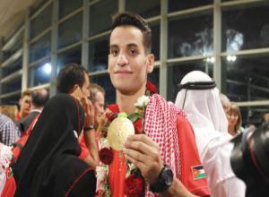 اللجنة الاولمبية تحتفي بابو غوش غدا