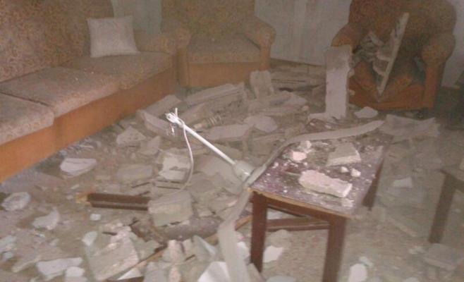 إصابات بانهيار سقف منزل في الغور الشمالي