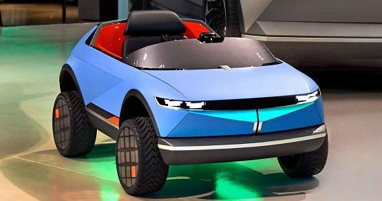 هيونداي موتورز تكشف النقاب عن أصغر سيارة كهربائية