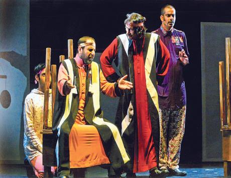 عروض مشغولة بالثورة وحرية الشعوب في مهرجان المسرح العربي