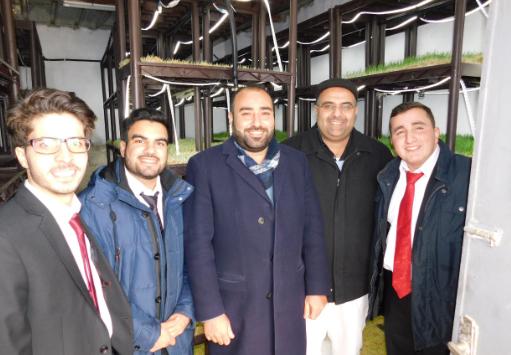 مشروع للزراعات المائية عديمة التربة في الجامعة الألمانية الأردنية