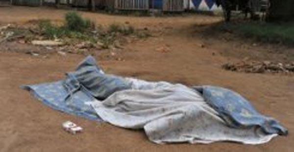 العثور على جثة اربعينية ملقاة على جانب الطريق في المفرق