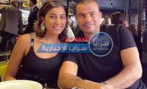 بالفيديو  ..  دينا الشربيني ترقص أمام عمرو دياب