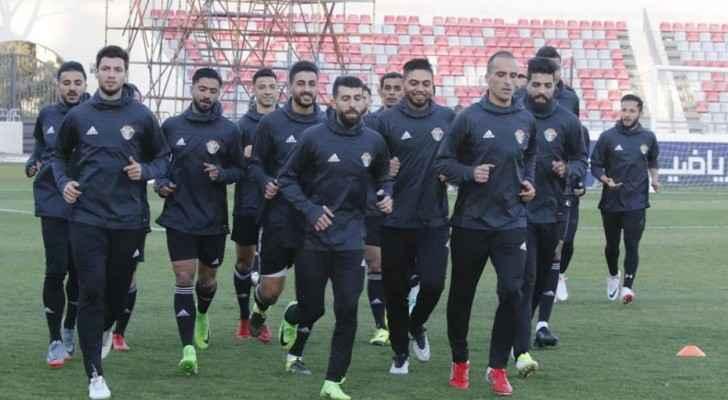 منتخب النشامى يبدأ تدريباته استعداداً لمواجهة ليبيا ودياً