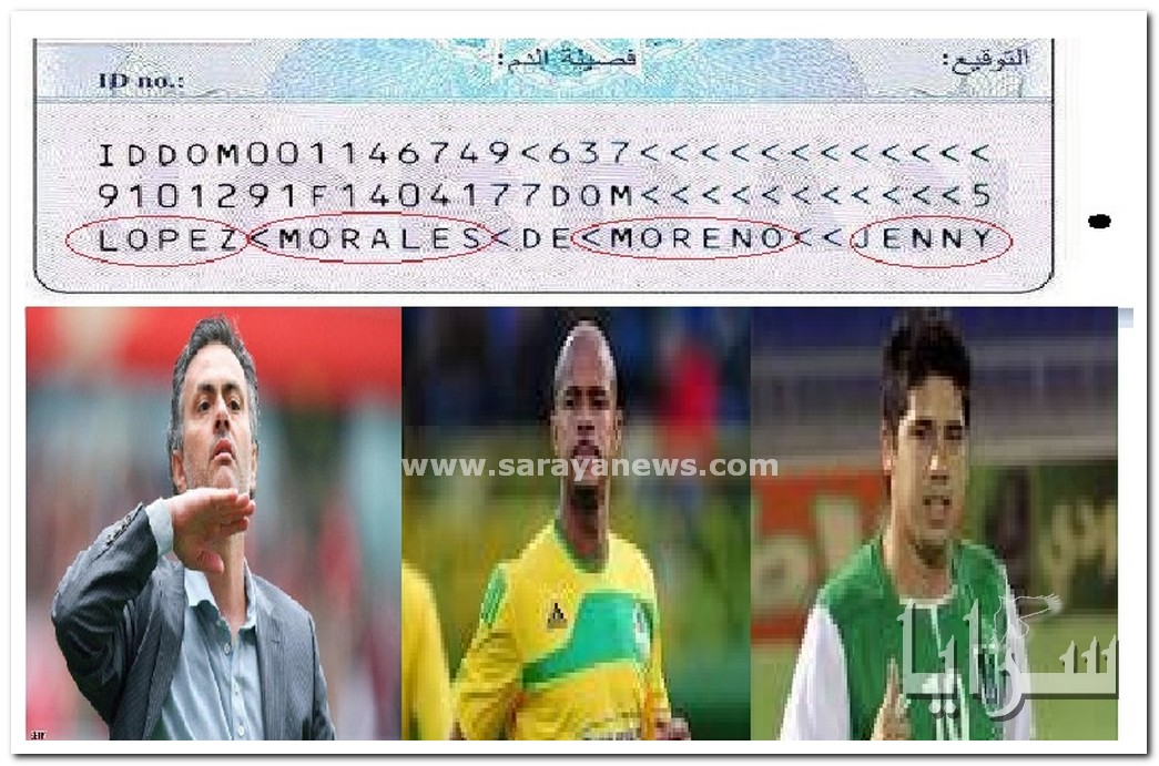 بالصور.. منها لوبيز ومورينيو.. أسماء لاعبوا اوروبا على البطاقة الذكية الاردنية الجديدة