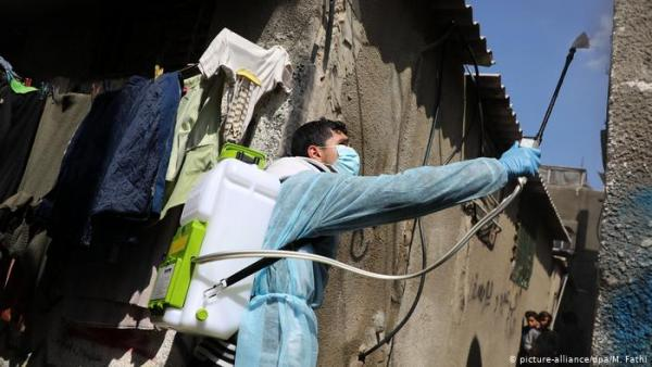 غزة: 21 وفاة و1556 اصابة جديدة بفيروس كورونا