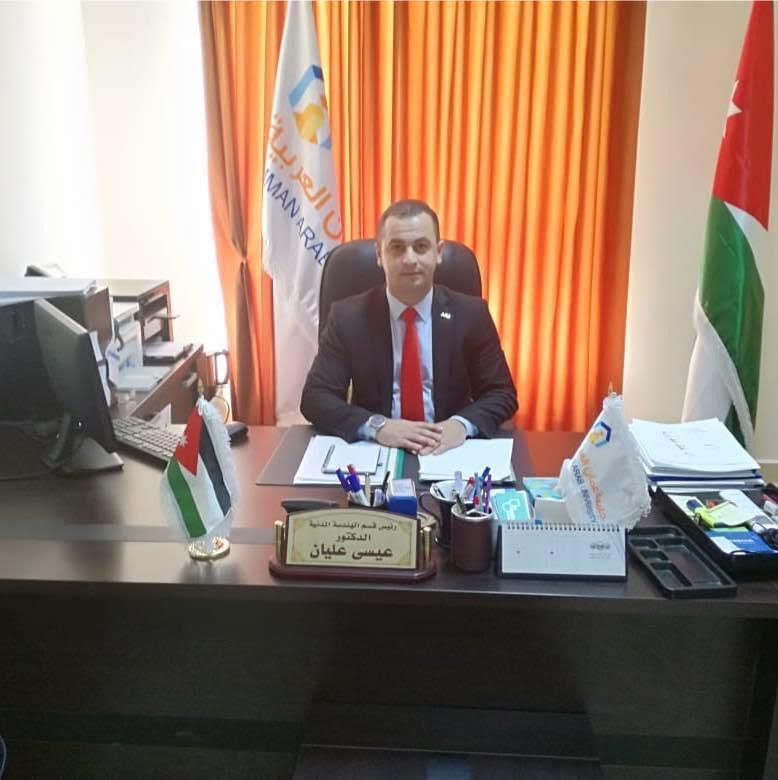 """عضو هيئة تدريس بـ""""عمان العربية"""" يصمم جهاز تنفس على الطاقة الحركية"""