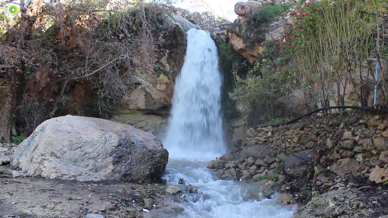 عجلون :شلالات وادي راجب وجهة سياحية تجذب آلاف الزوار