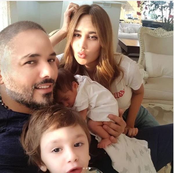 شاهدوا بالفيديو  ..  ابنة رامي عياش تحقق نصف مليون مشاهدة بعفويتها