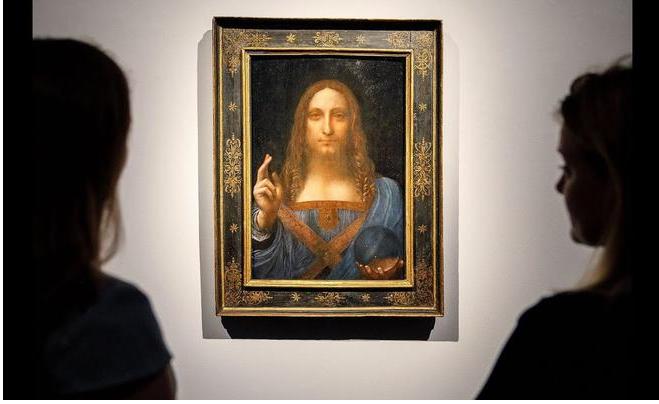 """أمير سعودي يشتري لوحة لـ""""دافنشي"""" بـ"""" 450 مليون دولار"""