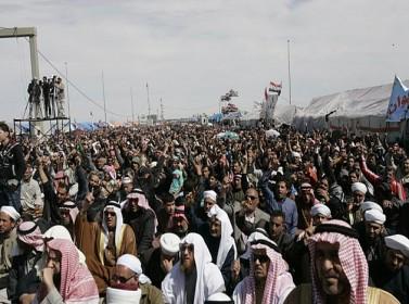 المظاهرات تعم المدن العراقية لاسقاط المالكي
