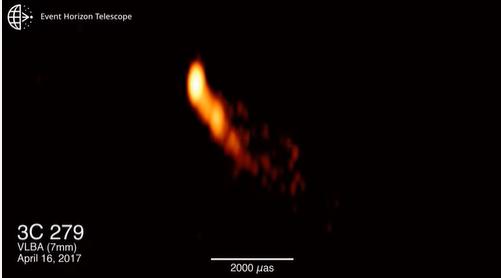 """في إنجاز كبير ..  الكشف عن أقرب صورة على الإطلاق لـ""""ظاهرة منبثقة"""" من ثقب أسود فائق الكتلة !"""