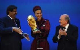 مطالبة دولية بحرمان قطر من استضافة كأس العالم