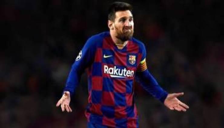 برشلونة يتلقى صدمة بإصابة 'ميسي'