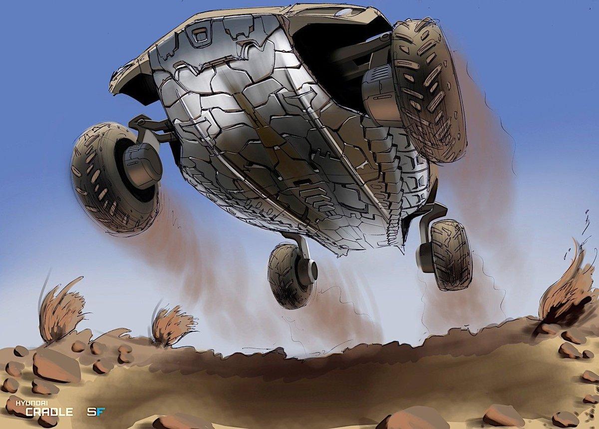 بالصور ..  هيونداي تكشف عن موعد طرح سيارتها الطائرة