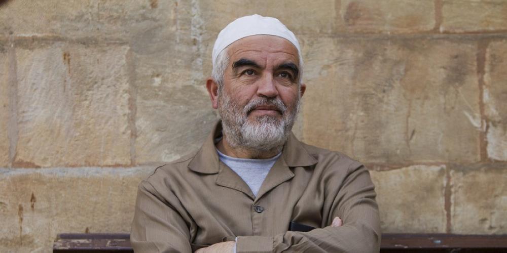 الشيخ رائد صلاح معزول في ظروف قاسية بمعتقل النقب