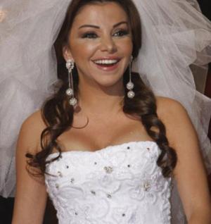 رزان مغربي عروس مرة أخرى بعد انجابها