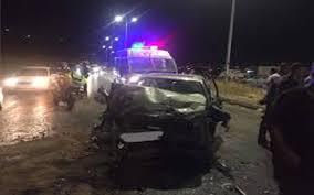 ثلاث وفيات واصابتان في حادث تصادم مركبتين في الزرقاء