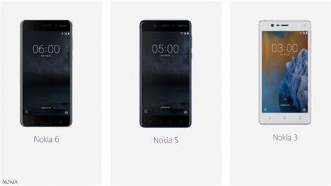 مقارنة بين هواتف نوكيا الثلاثة ..  بالسعر والمواصفات