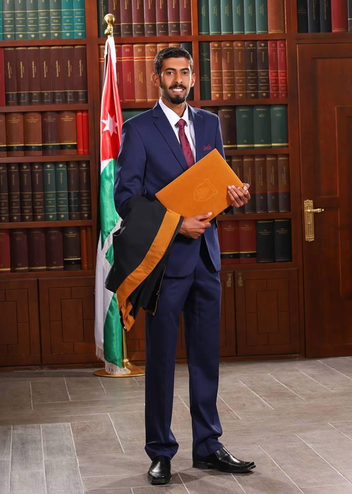 كايد الزبن مبارك التخرج