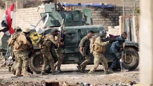 """القوات العراقية تدمر أوكار لـ""""داعش"""" على الحدود الأردنیة"""
