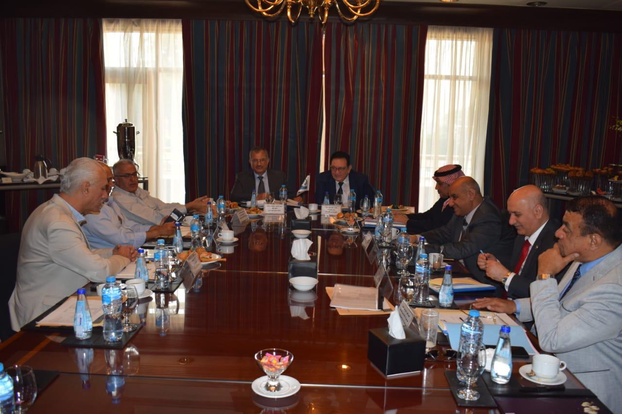 حداد يترأس اجتماعات الاتحاد العربي للنقل البري في القاهرة