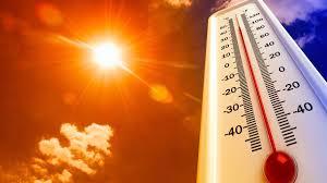 ارتفاع حاد على درجات الحرارة الأربعاء