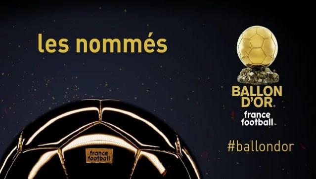 رسميًا  ..  فرانس فوتبول تعلن القائمة الكاملة للمرشحين للكرة الذهبية