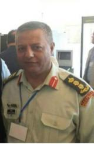 شكر للعقيد الدكتور عبدالله بيك العبيثا السرحان
