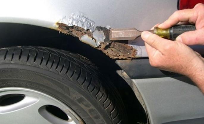 كيفية ازالة الصدأ من سيارتك بنفسك