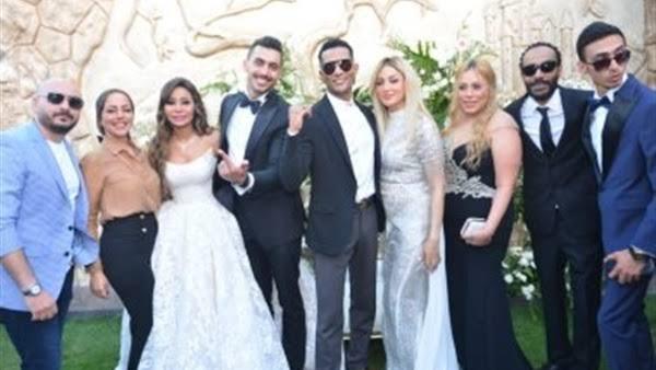"""بالصور .. حفل زفاف شقيقة محمد رمضان يثير غضب جمهور """"السوشيال ميديا"""""""