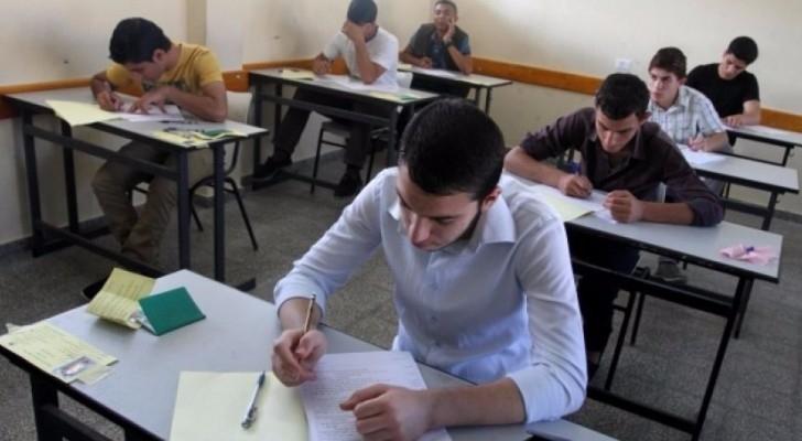 استمرار امتحانات التوجيهي وسط أجواء من الهدوء والانضباط