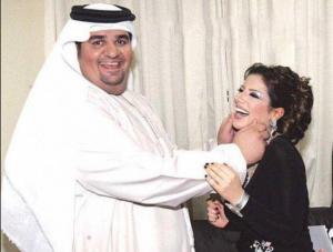 لن تصدقوا من هذه الإعلامية الشهيرة مع حسين الجسمي قبل عمليات التجميل!