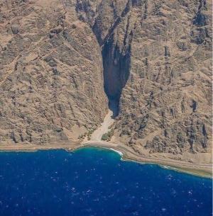 بالصور ..  من هنا سار النبي موسى و قومه هرباً من فرعون